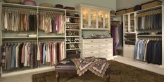walk in closet ideas | Custom Closets in CT / Wardrobe / Walk in / Master Bedroom / Wood / in ...