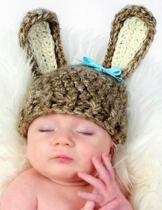 I'm obsessed with hats....both adorable and ridiculous to practical...doesn't matter I love them. Hoping Junior will cooperate and wear this for me next Easter...