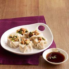Escarole-Chicken Dumplings