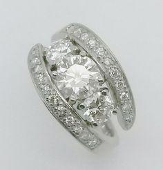 Beautiful custom made diamond ring by Havilah Designer Jewellers.