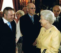 My penpal of 25 years meeting Her Majesty Queen Elizabeth II:)