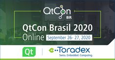 The online #QtCon Brasil 2020 kicks off in 2 days with a lot in store for you. You'll get to attend interesting speaker sessions, hackathons etc. and will also stand a chance to win special Toradex kits as prizes! Register today. #Qt #embedded Kicks, Store, News, Brazil, Storage, Shop