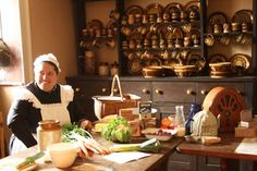 Cooking at Wimpole Hall