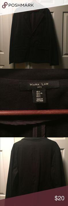 Black Mark Law Luxury Jacket, Sz Large Gently used, Black Mark Law Jacket in Size Large. 100% Cotton Mark Law Jackets & Coats Blazers