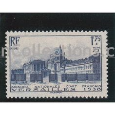 Timbre - Poste Château de Versaille neuf N° Yvert 379 Cote 45 French vintage postal stamps