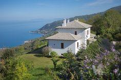 Aegean View Villa in Pilio-Greece  3 Bedroom Villa Sea View Book your Holidays Now !!!