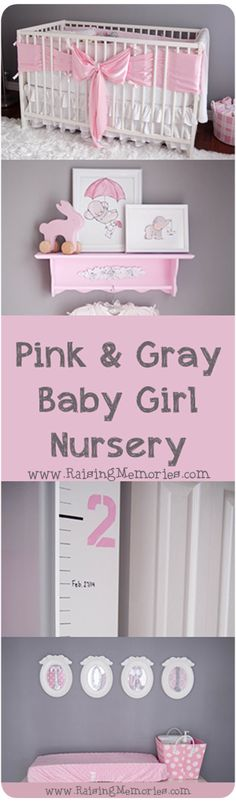22 New Ideas Baby Girl Nursery Diy Purple Cribs Baby Bedroom, Nursery Room, Girl Nursery, Nursery Gray, New Baby Girls, Baby Boys, Pépinières Rose, Ideas Habitaciones, Ideas Dormitorios