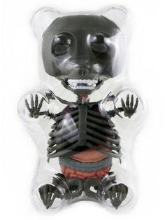 Limited Edition Anatomy Gummy Bear (Grey)