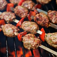 Kafta kabobs...one of my favorite foods at the Borough market