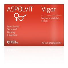 ASPOLVIT VIGOR 30 comprimidos | Farmacia Bonnin