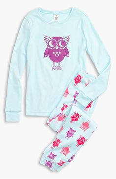 Tucker + Tate Two Piece Fitted Pajamas (Little Girls & Big Girls) available at #Nordstrom