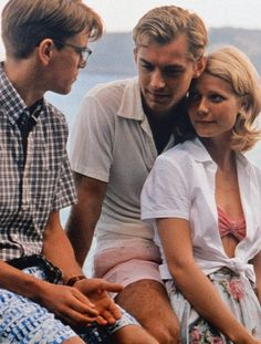 The Talented Mr. Ripley - great film, gorgeous cinematography, makes me want to move to Italy!