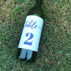 Wine bottle label table number stickers. Table Numbers,  wine bottle label,  wedding wine bottle table number,  wedding table number,  gala table number,  wedding centerpiece,  table decor,  wine table number,  wedding calligraphy, wine bottle sticker, wine  label,  table number sticker, personalized sticker, pinterest wedding, wedding ideas, wedding planner, wedding planning, table number ideas, diy wedding, diy table numbers