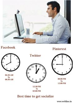 Best Time to get Socialize