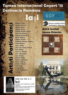 "Expozitia turneului international ,""GOYART '15 – Destinatie Romania"""