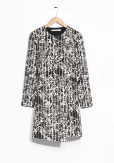 & Other Stories | Carbon Print Dress