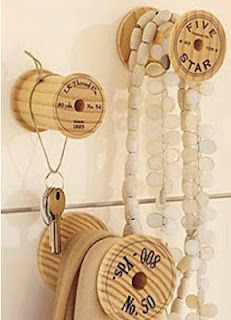 1000 Images About Repurposing Spools Big And Small On