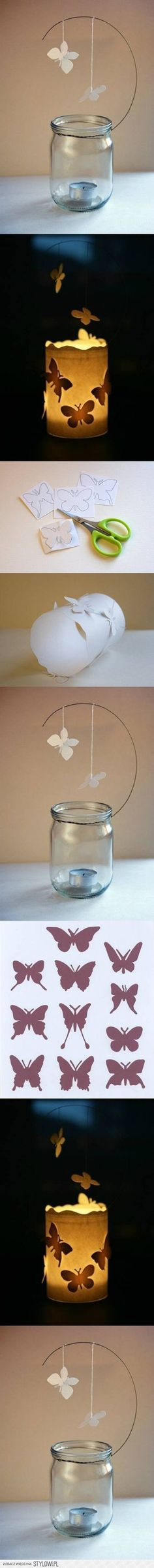 DIY Butterfly Candle Decor Ideas DIY Projects | UsefulD…