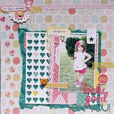 Cute layout by Sheri Twing