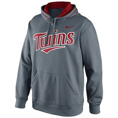 Minnesota Twins Seasonal KO Therma-FIT Hooded Sweatshirt by Nike