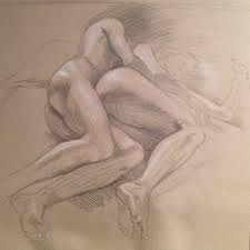 Image result for Spooning Sketch