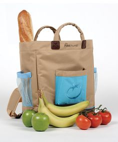 Love the idea of a Back Sack for farmer's market.