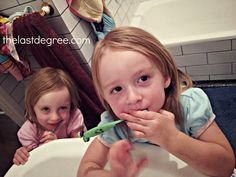 Healthy habits how to brush your kids teeth