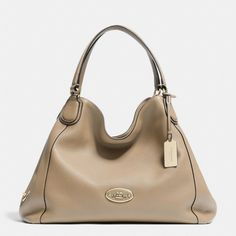 The Edie Shoulder Bag In Leather from Coach