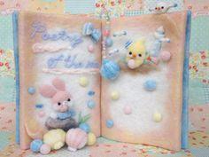 完成♪羊毛絵本の画像 | Feutre-Mille~羊毛フェルト日記~