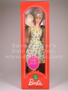 Barbie in a rare a Japanese issued doll never removed from box!