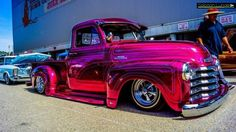 Hot Pink Chevy