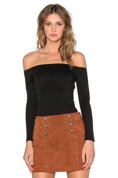 Capulet Shoulderless Bodysuit