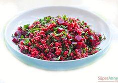 Pancarlı Bulgur Salatası Tarifi | Süper Anneden Kolay Yemek Tarifleri