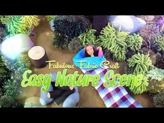 How to Make a EASY Doll Nature Scene - Plush | Fabric | Felt Crafts - 4K - YouTube