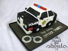 Cop car Cake Police Cruiser Cake