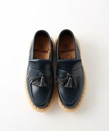 - <GEORGE COX×steven alan> RUBBER LOAFER