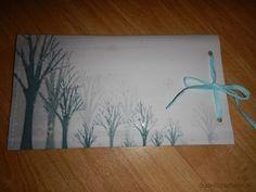 Umschlag Schneeflocken