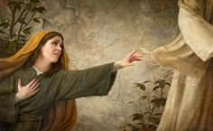 Image result for woman touching the robe of christ