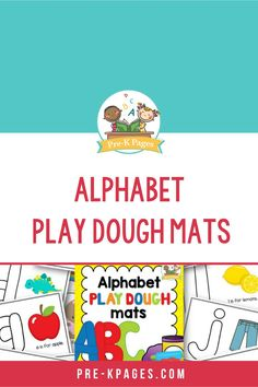 These alphabet play dough mat pages are perfect for fine motor practice! They are a fun, hands-on way to practice and learn the letters of the alphabet. 😀 ⁠You can laminate and reuse the color pages or put them in page protectors. 👍⁠ Kids Learning Activities, Student Learning, Early Education, Childhood Education, Letter Recognition Games, Pre K Pages, Teaching The Alphabet, Page Protectors, Uppercase And Lowercase Letters