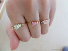 These Frescurites there: DIY: Ring delicate