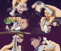 fullmetal alchemist brotherhood the chess pieces