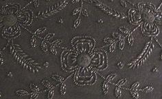 beadwork on an antique purse