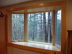 andersen bay windows photos   This Andersen bay window was installed and finished to reproduce the ...