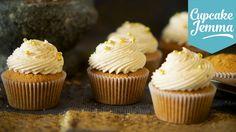 Chai Latte Cupcake Recipe | Cupcake Jemma - YouTube