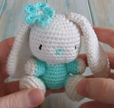 Amigurumi Bunny Rabbit By HappyBerry - Free Crochet Pattern - (ravelry)