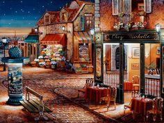 Starry Night (O'Brien) via MuralsYourWay.com