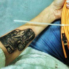 #татуировка #гелик #brabus #mersedes #тачка #рисунок #эскиз