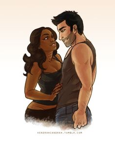 Interracial dating drawings