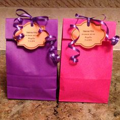 Cute, Easy & Affordable Treat Bags for 10 year old girls
