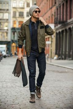 Fall staples for men Mens Fashion Menswear Mens Casual Outfit for Fall Moda Masculina Shop at Casual Wear For Men, Casual Fall, Guys Casual Fashion, Trendy Fashion, Urban Fashion Men, Rustic Mens Fashion, Petite Fashion, Cheap Fashion, Affordable Fashion